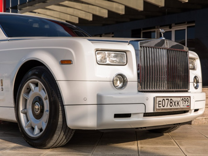 Прокат Rolls-Royce Phantom в Шали